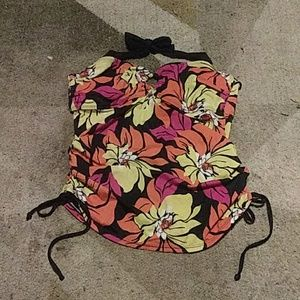 Islander Floral Bathing Suit Top 16
